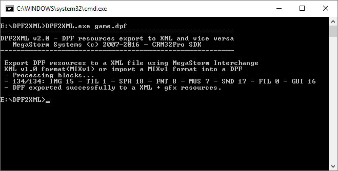 DPF2XML DPF->MIXv1